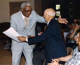 Buck O'Neil and Byron