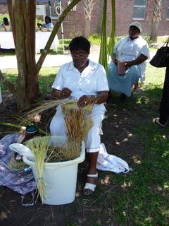 Charleston Gullah (Sweet grass basket maker)